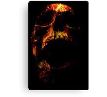 Trickster Skull Canvas Print