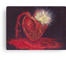 Bleeding Love Canvas Print