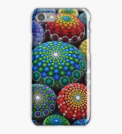 Jewel Drop Mandala Stone Collection #1 iPhone Case/Skin