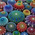 Mandala Stones by Elspeth McLean by Elspeth McLean