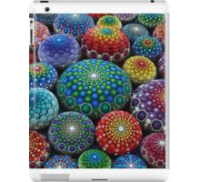 Jewel Drop Mandala Stone Collection #1 iPad Case/Skin