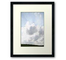 The sky near Oz Framed Print