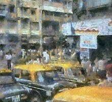 asian taxi scene v1 by DARREL NEAVES