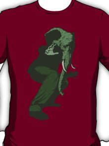 Just Some Green Guy With An Elephant Head T-Shirt