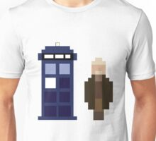 Pixel War Doctor and TARDIS Unisex T-Shirt