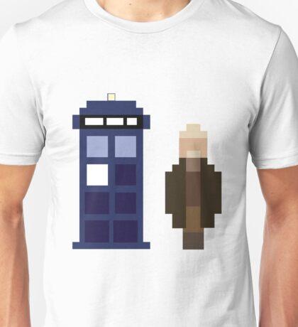 Pixel War Doctor and TARDIS Unisex T-Shirt