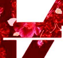 TOP Floral Logo Sticker