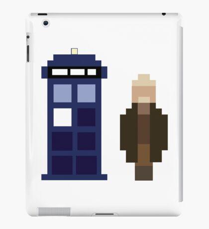 Pixel War Doctor and TARDIS iPad Case/Skin