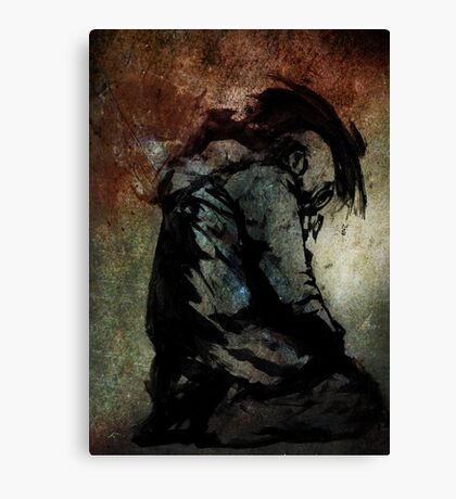 Leroy Takes A Moment To Reflect On All That He Has Lost Canvas Print