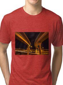 Two Lanes Tri-blend T-Shirt