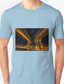 Two Lanes Unisex T-Shirt