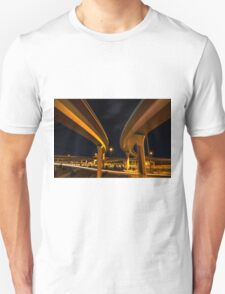 Two Lanes Unisex T-Shirt