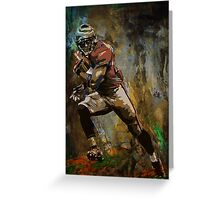 American player....... Greeting Card