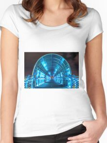 Electric Bridge Women's Fitted Scoop T-Shirt