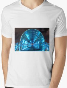 Electric Bridge Mens V-Neck T-Shirt