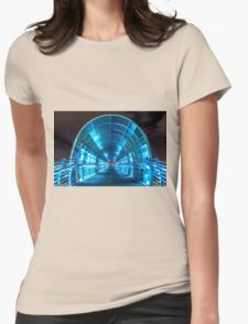 Electric Bridge Womens Fitted T-Shirt