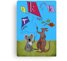 K is for... Canvas Print