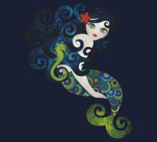 Aquamarine, the Teenage Mermaid Kids Tee
