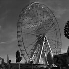 Black and white wheel by Ladymoose
