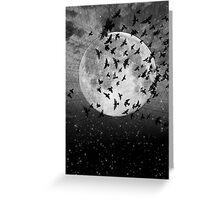 Black & White Collection -- Beyond The Horizon Greeting Card