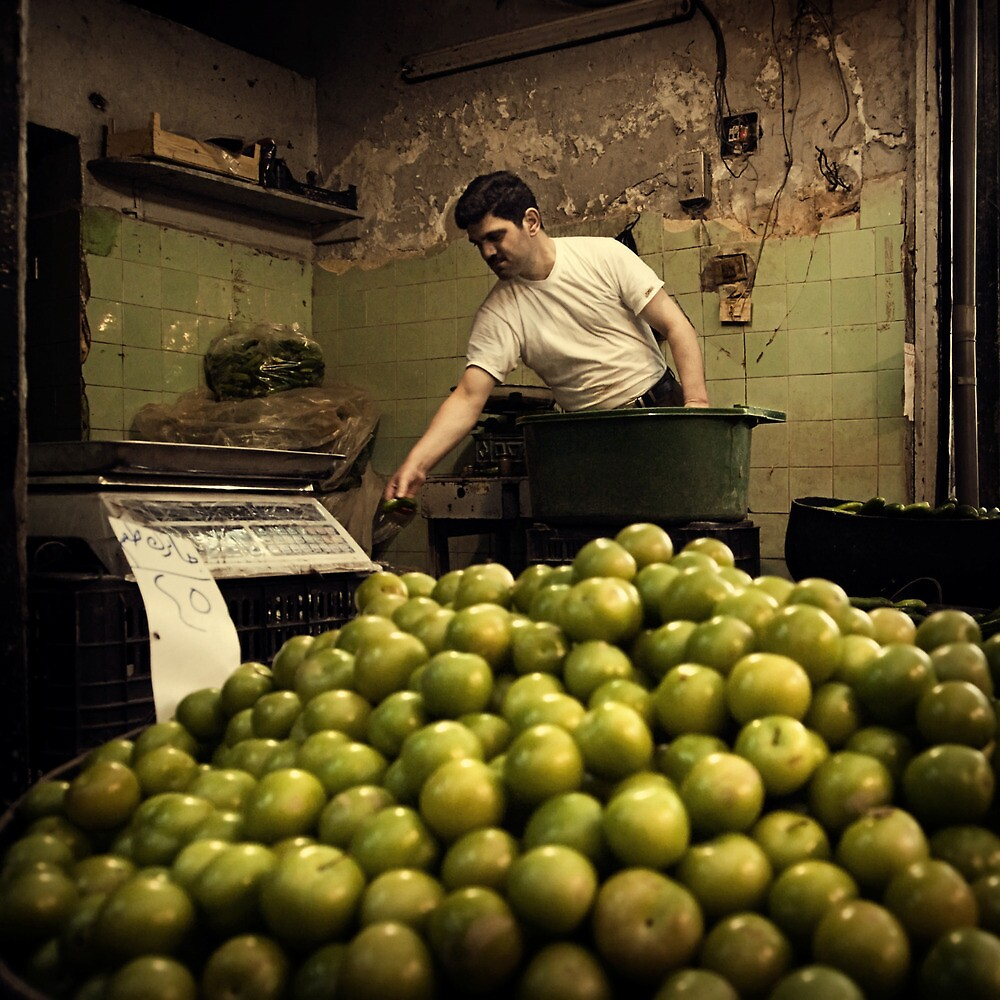 The Greengrocer #0101 by Michiel de Lange