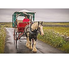 Jaunting with Johnny Cash Photographic Print