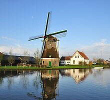 Dutch Windmill by Hans Kool