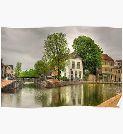 """Dutch Old Town """"Schiedam"""" Poster"""