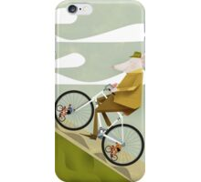 Hamster Cyclist Road Bike Poster iPhone Case/Skin