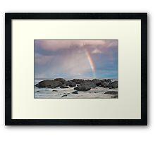 Augusta Rainbow Framed Print
