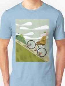Hamster Cyclist Road Bike Poster Unisex T-Shirt
