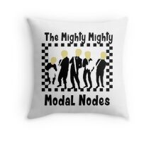 The Mighty Mighty Modal Nodes Throw Pillow