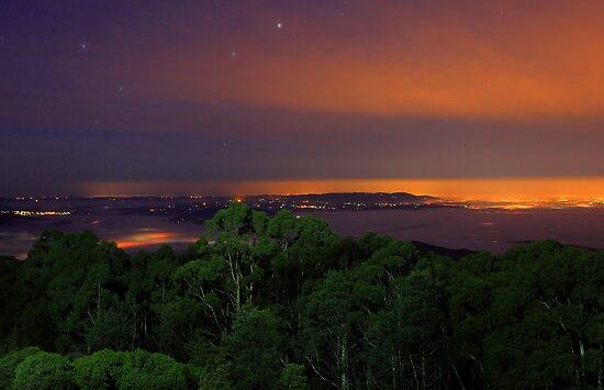 .Mt Saint Leonard and the Yarra Valley by Donovan Wilson