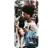 Times Square Stroll  iPhone Case/Skin