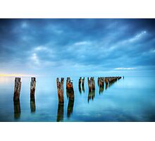 Clifton Springs Jetty Ruins Photographic Print