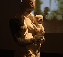Cloth Mother, plaster & wire, 2009 by Becky Nevin