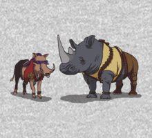 Warthog and Rhino Animal Cosplay Kids Clothes