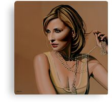 Cate Blanchett painting Canvas Print
