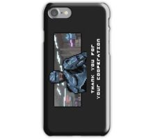 Thank You For Your Pixelation iPhone Case/Skin