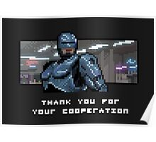 Thank You For Your Pixelation Poster