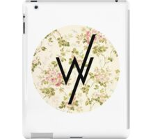 Sleeping With Sirens(flower background) iPad Case/Skin