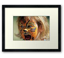 The Tigeress Framed Print