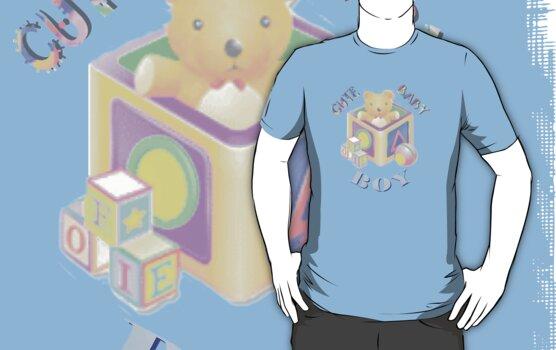 Cute Baby Kids Tshirt by judygal