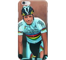 Cadel Evans painting iPhone Case/Skin