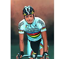 Cadel Evans painting Photographic Print