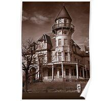The Krueger Scott Mansion Poster