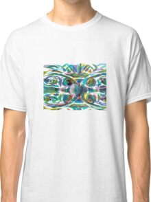 Peacock Abstract Classic T-Shirt
