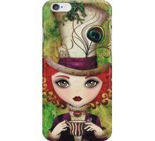 Lady Hatter iPhone Case/Skin