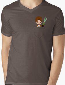 Pocket Who! (Eleventh Doctor) Mens V-Neck T-Shirt