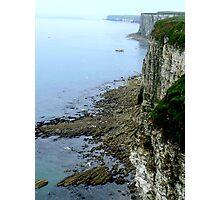 Bempton Cliffs  -  East Yorkshire Photographic Print